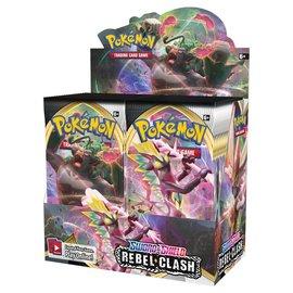 Pokemon International Pokemon Sword and Shield Rebel Clash Booster Box