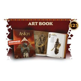 Cool Mini or Not Ankh: Gods of Egypt Kickstarter Art Book (PREORDER-Local Pickup Only)