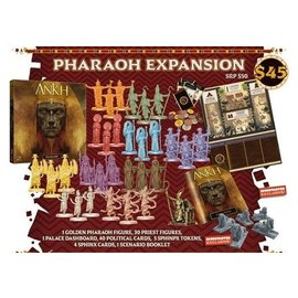 Cool Mini or Not Ankh: Gods of Egypt Kickstarter Pharaoh Expansion (PREORDER-Local Pickup Only)
