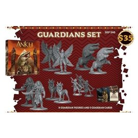 Cool Mini or Not Ankh: Gods of Egypt Kickstarter Guardians Set (PREORDER-Local Pickup Only)