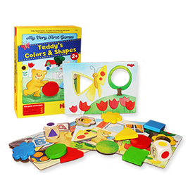 HABA My Very First Games: Teddy's Colors & Shapes