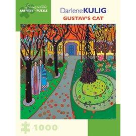 Pomegranate Darlene Kulig: Gustav's Cat 1000-Piece Jigsaw Puzzle