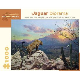 Pomegranate Jaguar Diorama 1000-Piece Jigsaw Puzzle