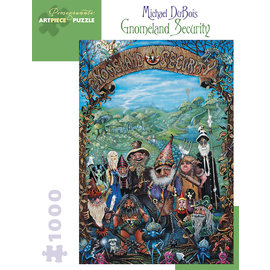 Pomegranate Michael DuBois: Gnomeland Security 1000-Piece Jigsaw Puzzle