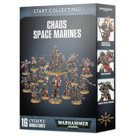Games Workshop Warhammer 40k: Start Collecting! Chaos Space Marines
