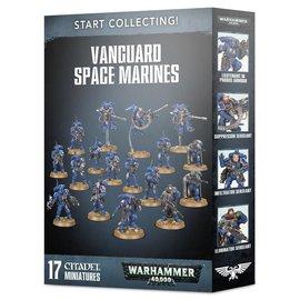 Games Workshop Warhammer 40k: Start Collecting! Vanguard Space Marines