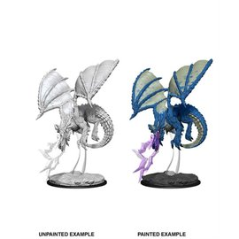 Wiz Kids Wizkids Unpainted: D&D - Wave 8 - Young Blue Dragon