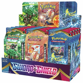 Pokemon International Pokemon Sword and Shield Theme Deck - Inteleon