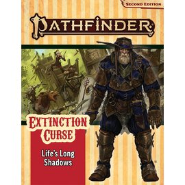 Paizo Pathfinder - Second Edition Adventure Path: Extinction Curse Part 3 - Life's Long Shadows