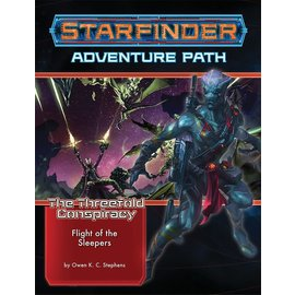 Paizo Starfinder RPG: Adventure Path - The Threefold Conspiracy Part 2 - The Flight of the Sleepers