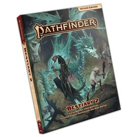 Paizo Pathfinder - Second Edition Bestiary 2 - Hardcover