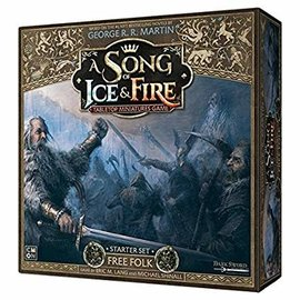 Cool Mini or Not A Song of Ice & Fire: Tabletop Miniatures Game Starter Set - Free Folk