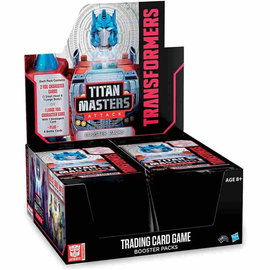 Wizards of the Coast Transformers TCG - Titan Masters Attack Booster Pack