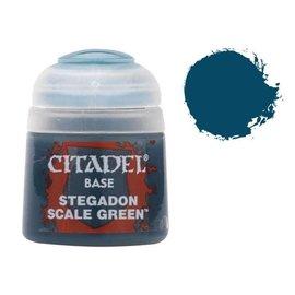 Games Workshop Citadel Base - Stegadon Scale Green