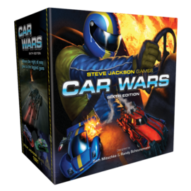 Steve Jackson Games Car Wars Sixth Edition (Kickstarter) (Preorder)