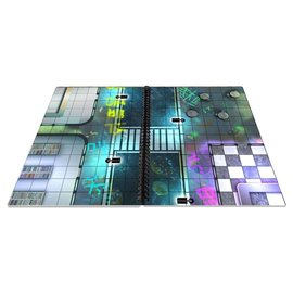 Loke Battlemats Big Book of Cyberpunk Battle Mats