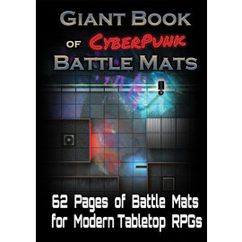Loke Battlemats Giant Book of Cyberpunk Battle Mats