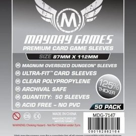 Mayday Games Mayday Sleeves: Premium Magnum Oversized Dungeon Sleeves: 87 x 112 mm (50)