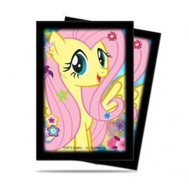 Ultra Pro My Little Pony Small Size Deck Protector Sleeves - Fluttershy 60ct