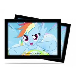 Ultra Pro My Little Pony Small Size Deck Protector Sleeves - Rainbow Dash 60ct
