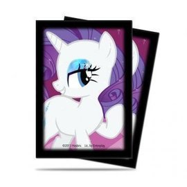Ultra Pro My Little Pony Small Size Deck Protector Sleeves - Rarity 60ct