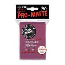 Ultra Pro 50ct Pro-Matte Blackberry Standard Deck Protectors