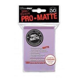 Ultra Pro 50ct Pro-Matte Lilac Standard Deck Protectors