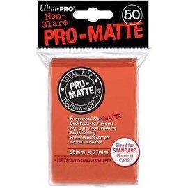 Ultra Pro 50ct Pro-Matte Peach Standard Deck Protectors