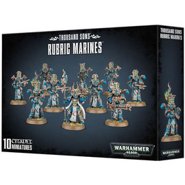 Games Workshop Warhammer 40k: Thousand Sons Rubric Marines (SL)