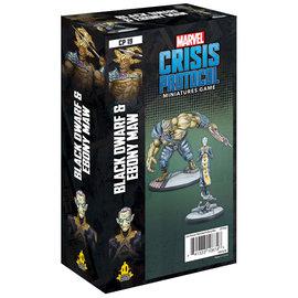 Fantasy Flight Marvel: Crisis Protocol - Black Dwarf and Ebony Character Pack