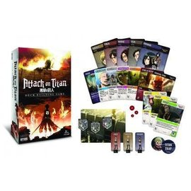 Cryptozoic Attack on Titan Deck Building Game