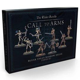 Modiphius Elder Scrolls: Call to Arms - Bleak Falls Barrow Delve Set