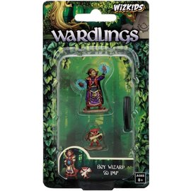 Wizards of the Coast Wardlings Fantasy Miniatures: Boy Wizard & Imp