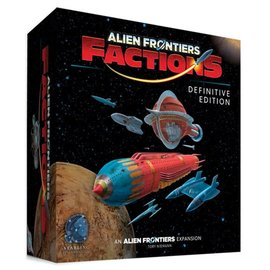 Game Salute Alien Frontiers: Factions Definitive Edition