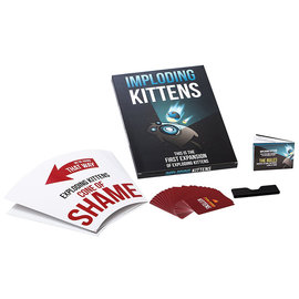 Exploding Kittens, LLC Exploding Kittens: Imploding Kittens Expansion