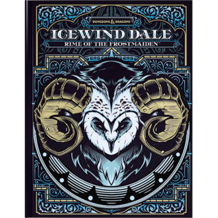 Wizards of the Coast Dungeons and Dragons: Icewind Dale - Rime of the Frostmaiden (Exclusive Cover) (PREORDER)