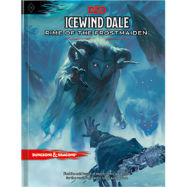 Wizards of the Coast Dungeons and Dragons: Icewind Dale - Rime of the Frostmaiden (Standard Cover) (PREORDER)