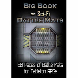 Loke Battlemats Big Book of Sci-Fi Battle Mats