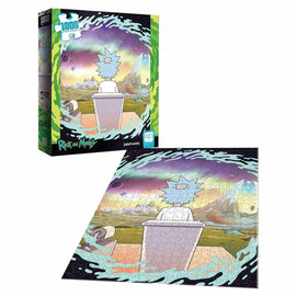 USAopoly Rick and Morty Shy Pooper 1000 Piece Puzzle