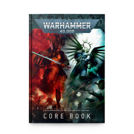 Games Workshop Warhammer 40k: 9th Edition Core Rules