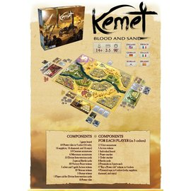 Matagot Kemet: Blood and Sand (Kickstarter All-In Pledge) (LOCAL ONLY)
