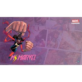 Fantasy Flight Marvel Champions Playmat - Ms. Marvel