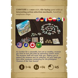 Worldshapers Curators (Kickstarter Base Game + Premium Chip Upgrade) (PREORDER)