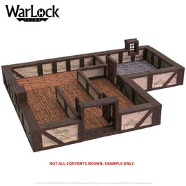 Wiz Kids WarLock Tiles: Town & Village