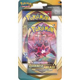 Pokemon International Pokemon Sword and Shield Darkness Ablaze Booster Pack + Bonus