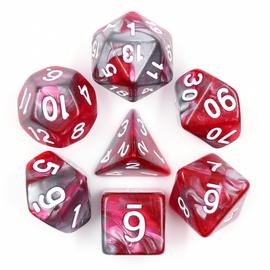 7 Set Polyhedral Dice - Dragon's Blood