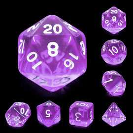 7 Set Polyhedral Dice - Tyrian Gems
