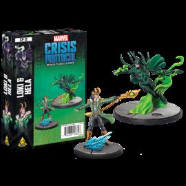 Fantasy Flight Marvel: Crisis Protocol - Loki and Hela Character Pack
