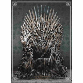 USAopoly Game of Thrones 1000 Piece Puzzle - Iron Throne