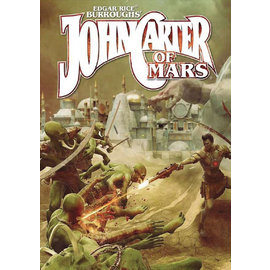 Modiphius John Carter of Mars RPG - Adventures on the Dying World of Barsoom Core Rulebook